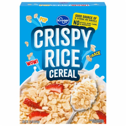 Kroger® Crispy Rice Cereal Perspective: front