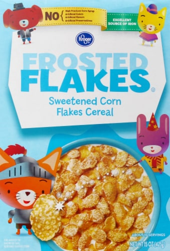 Kroger® Frosted Flakes Cereal Perspective: front