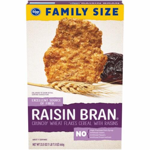 Kroger® Raisin Bran Cereal Perspective: front