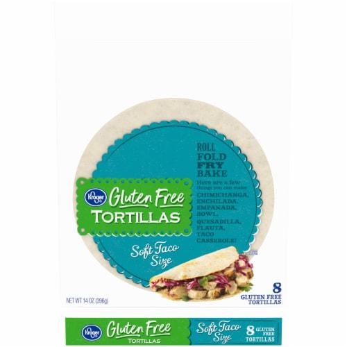 Kroger® Gluten Free Soft Taco Size Tortillas Perspective: front