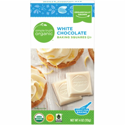 Simple Truth Organic™ White Chocolate Baking Squares Perspective: front