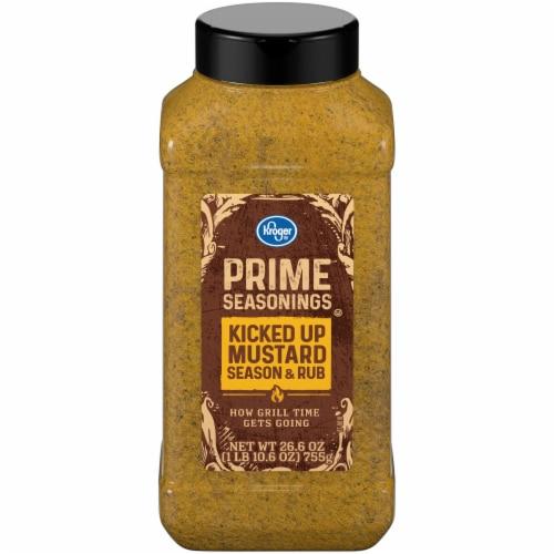 Kroger® Prime Seasonings Kicked Up Mustard Season & Rub Perspective: front