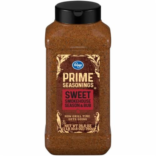 Kroger® Prime Seasonings Sweet Smokehouse Season & Rub Perspective: front