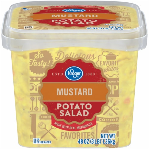Kroger® Mustard Potato Salad Perspective: front