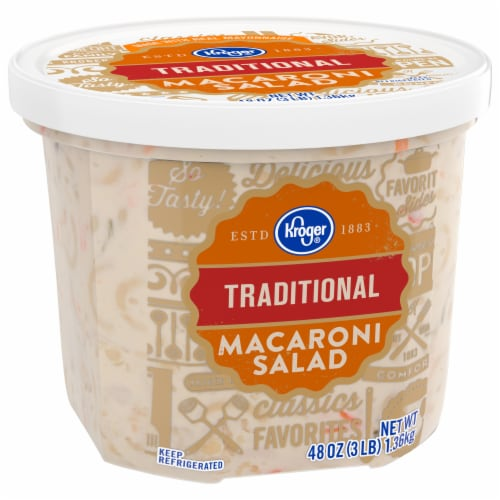 Kroger® Traditional Macaroni Salad Perspective: front
