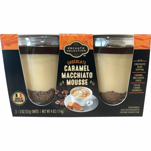 Private Selection™ Chocolate Caramel Macchiato Mousse Dessert Perspective: front