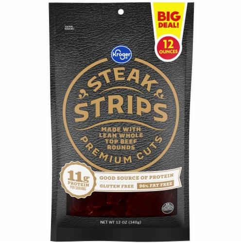 Kroger® Original Beef Steak Strips Perspective: front