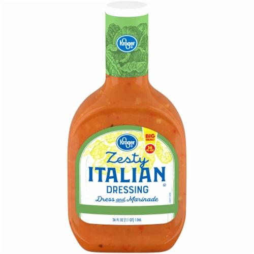 Kroger® Zesty Italian Salad Dressing Perspective: front