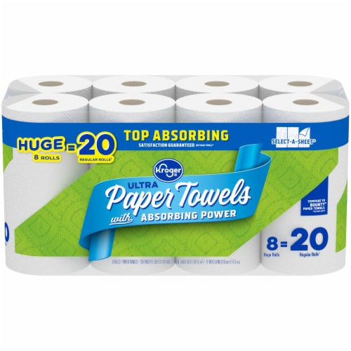 Kroger® Ultra Select-A-Sheet Paper Towels Perspective: front