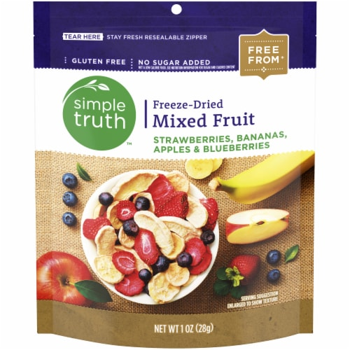 Simple Truth™ Gluten Free Freeze-Dried Mixed Fruit Pouch Perspective: front