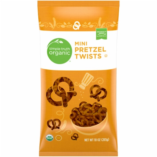 Simple Truth Organic™ Mini Pretzel Twists Perspective: front