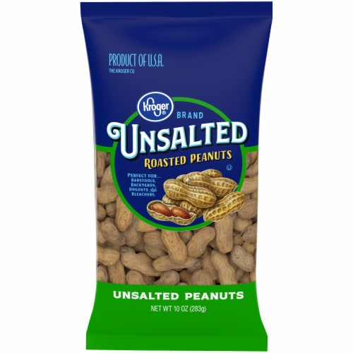 Kroger® Unsalted In-Shell Peanuts Perspective: front