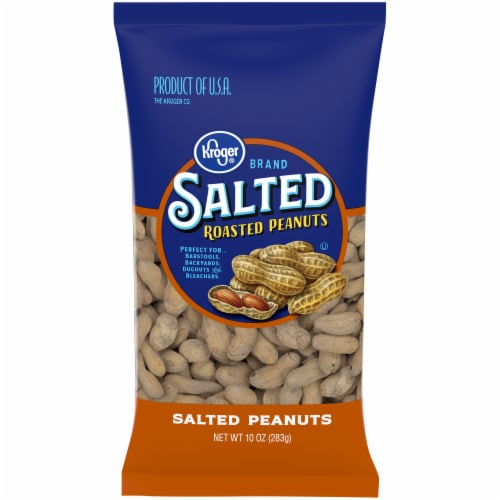 Kroger® Salted In-Shell Peanuts Perspective: front
