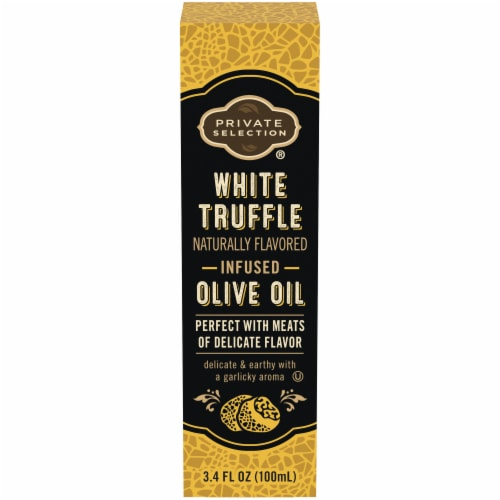 Private Selection® White Truffle Infused Olive Oil Perspective: front