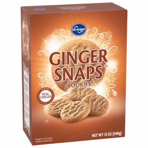 Kroger® Ginger Snaps Cookies Perspective: front