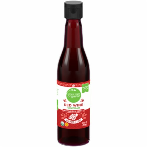 Simple Truth Organic™ Red Wine Vinegar Perspective: front