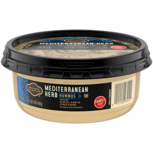 Private Selection™ Mediterranean Hummus Perspective: front