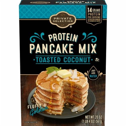 Private Selection® Toasted Coconut Protein Pancake Mix Perspective: front