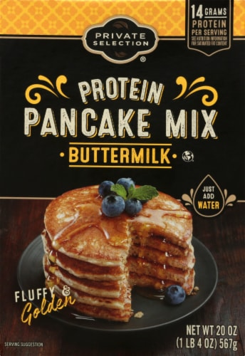 Private Selection® Buttermilk Protein Pancake Mix Perspective: front