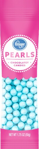 Kroger® Pearls Blue Chocolatey Candies Perspective: front