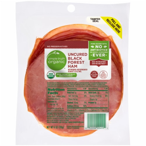 Simple Truth Organic® Uncured Black Forest Ham Perspective: front