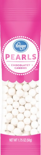 Kroger® Pearls White Chocolatey Candies Perspective: front