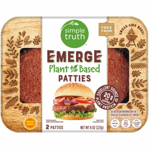 Simple Truth™ Emerge Plant Based Patties Perspective: front