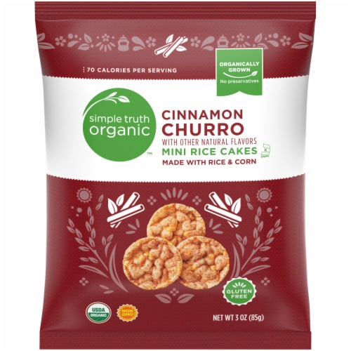 Simple Truth Organic™ Cinnamon Churro Mini Rice Cakes Perspective: front