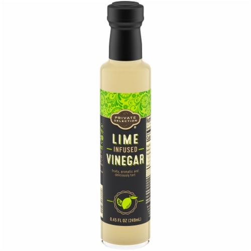Private Selection® Lime Infused Vinegar Perspective: front
