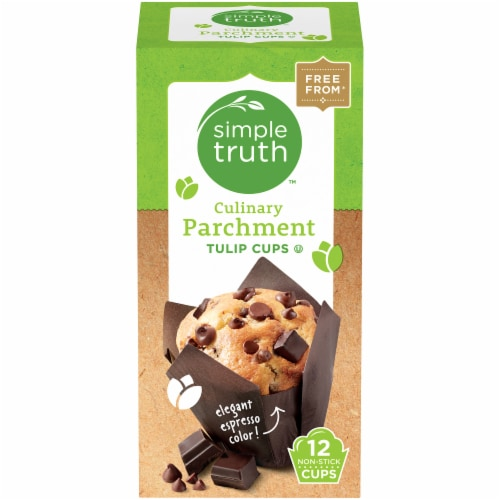 Simple Truth™ Culinary Parchment Tulip Cups Perspective: front