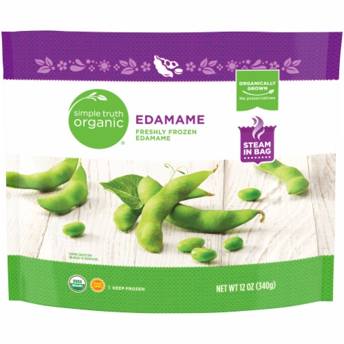 Simple Truth Organic® Frozen Edamame Perspective: front