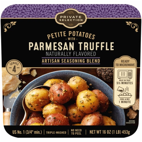 Private Selection™ Petite Potatoes with Parmesan Truffle Artisan Seasoning Blend Perspective: front