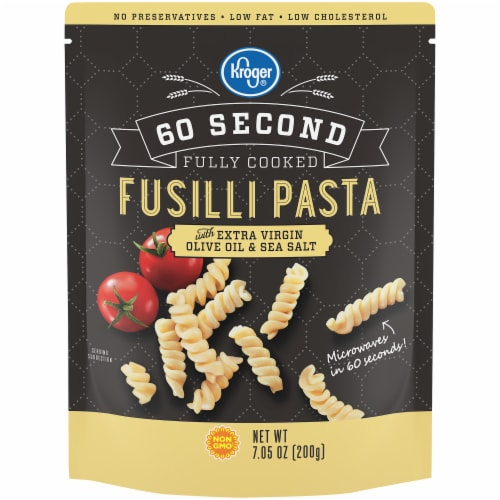 Kroger® 60 Second Fully Cooked Fusilli Pasta Perspective: front