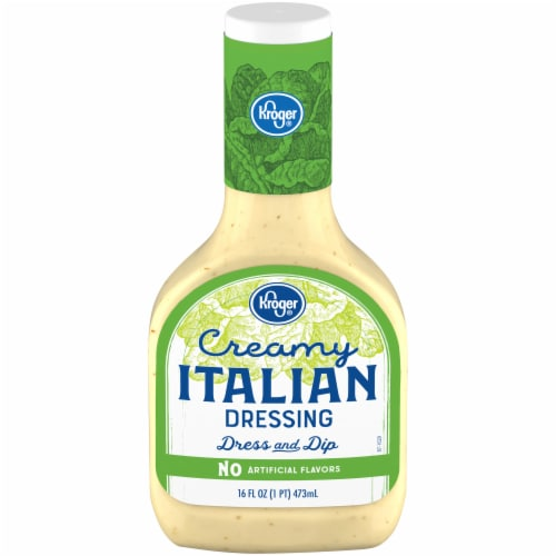Kroger® Creamy Italian Dressing Perspective: front