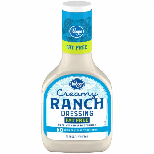 Kroger® Fat Free Creamy Ranch Dressing Perspective: front