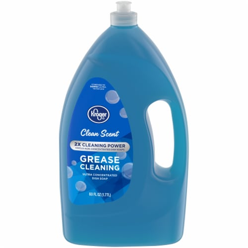 Kroger® Clean Scent Grease Cleaning Ultra Concentrated Liquid Dish Soap Perspective: front