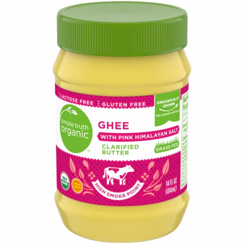 Simple Truth Organic™ Ghee with Pink Himalayan Salt Perspective: front