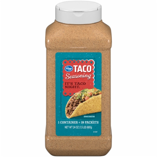 Kroger® Taco Seasoning Perspective: front