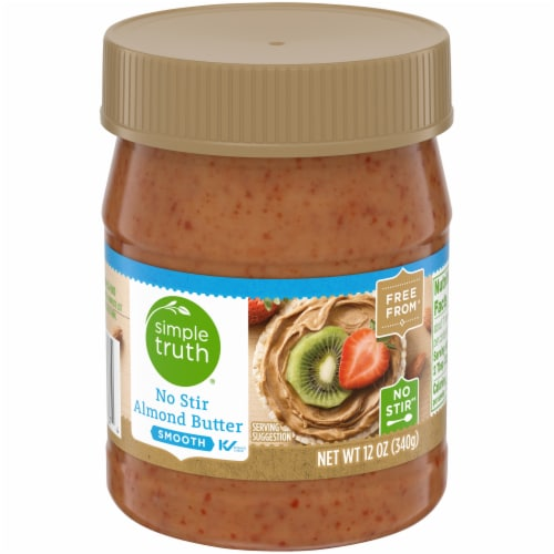 Simple Truth® Smooth No Stir Almond Butter Perspective: front