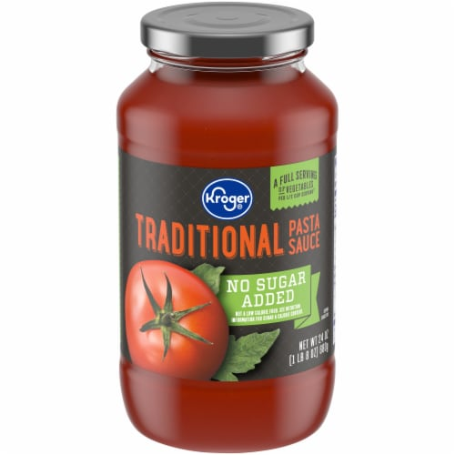 Kroger® No Sugar Added Traditional Pasta Sauce Perspective: front