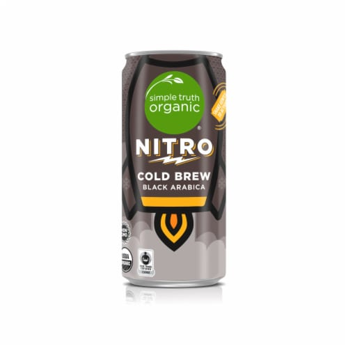 Simple Truth Organic™ Nitro Black Cold Brew Coffee Perspective: front