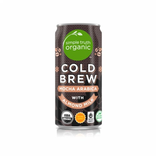 Simple Truth Organic™ Cold Brew Mocha with Almond Milk Coffee Perspective: front