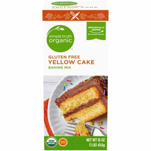Simple Truth Organic™ Gluten Free Yellow Cake Baking Mix Perspective: front