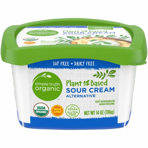 Simple Truth Organic™ Gluten Free Non-Dairy Sour Cream Perspective: front