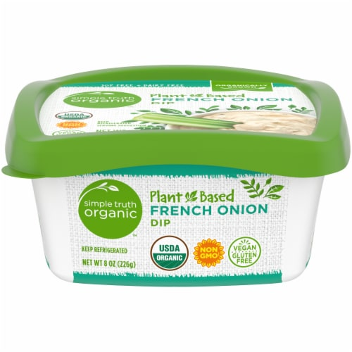 Simple Truth Organic™ Plant-Based French Onion Dip Perspective: front