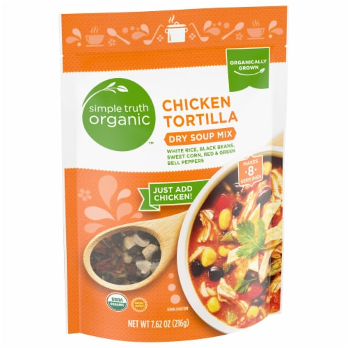 Simple Truth Organic™ Chicken Tortilla Soup Mix Perspective: front