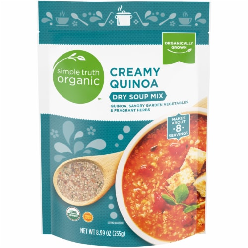 Simple Truth Organic™ Creamy Quinoa Dry Soup Mix Perspective: front