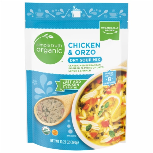 Simple Truth Organic™ Chicken & Orzo Dry Soup Mix Perspective: front