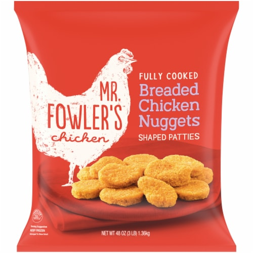 Mr. Fowler's® Breaded Chicken Nuggets Perspective: front