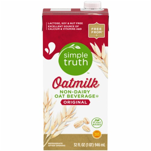 Simple Truth™ Original Oatmilk Non-Dairy Oat Beverage Perspective: front
